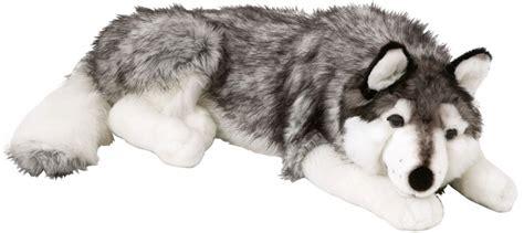 husky puppy stuffed animal 70cm ellie the husky soft cuddle plush adults collection ebay
