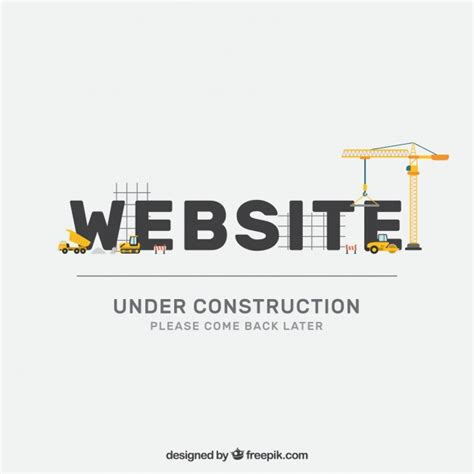 free website construction template website construction vectors photos and psd files