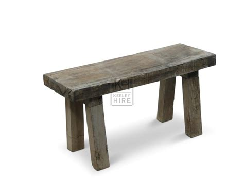 benches prop hire 187 simple wooden bench keeley hire