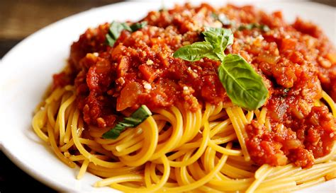 Spghetti Bolognese spaghetti bolognese anonymous cookery