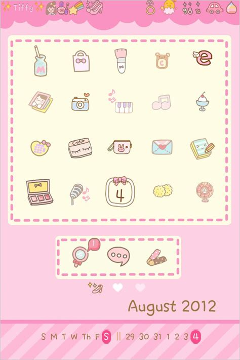 iconoclasm layout maker ios 8 pinkie cutie theme thebigboss org iphone software