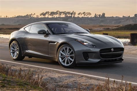 jaguar f type 2018 jaguar f type coupe turbo four first test motor trend