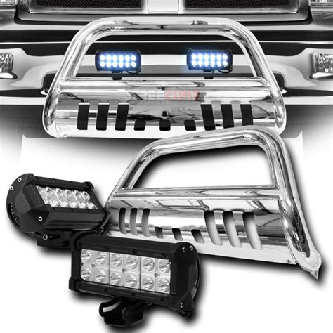 Ram 2500 Led Light Bar 2010 2015 Dodge Ram 2500 3500 Front Bull Bar Guard 36w Led Light Bar Polished