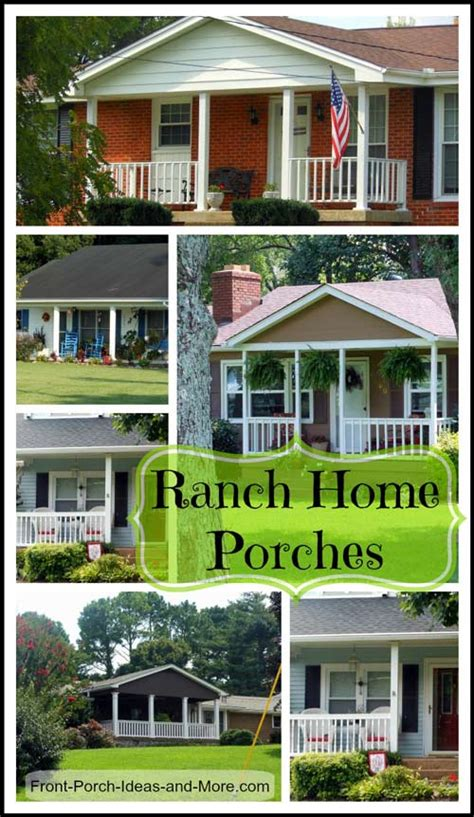 rancher home ranch home porches add appeal and comfort