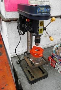 gmc drill press gmc bench mounted drill press 1 3hp 240 volt auction
