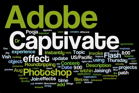 9 Cool Words To Add To Your Vocabulary by Add Word Clouds To Your Adobe Captivate Projects