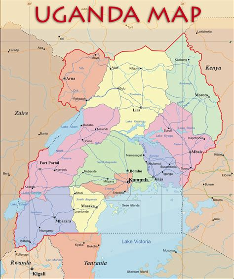 map of uganda uganda profile alaina s summer in uganda