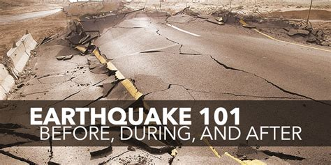 earthquake massage loss control what to do before during and after earthquake 101