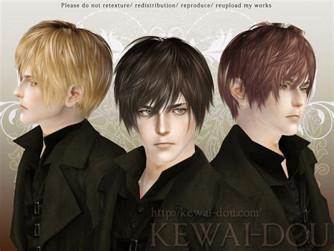 levi hair for the sims3 kewai dou lezginka hair for the sims3 kewai dou