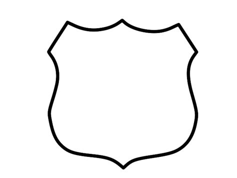 Badge Outline by How To Draw A Badge Cliparts Co