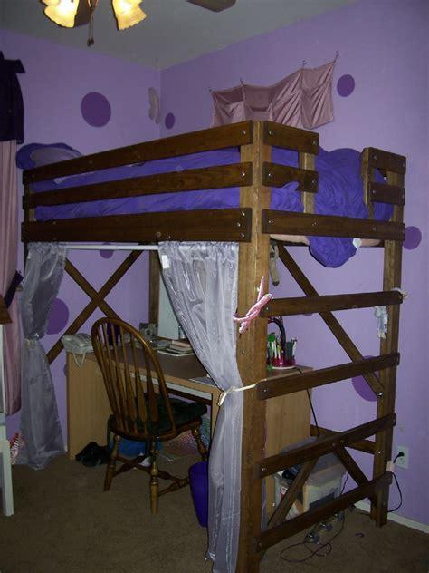 twin size loft bed uye home loft bed twin