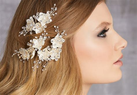 8 Floral Inspired Accessories by 8 Floral Wedding Hair Accessories From Morilee Find Your