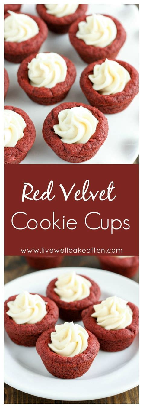 Velvet Cheesecake Cookie Cups On 25 Best Ideas About Mini Dessert Cups On
