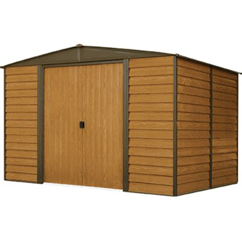 Metal Shed 10 X 6 by Arrow Woodridge 10 X 6 Storage Shed