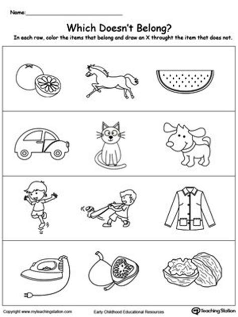 39 best sorting categorizing worksheets images on 39 best images about sorting categorizing worksheets on