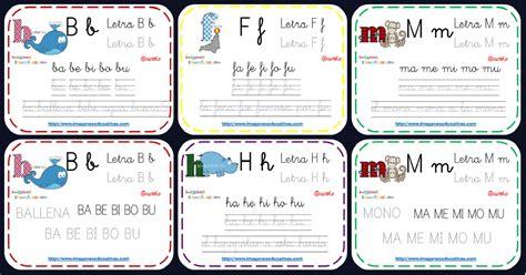 imagenes educativas fichas para contar abecedario animales fichas repaso lecto escritura