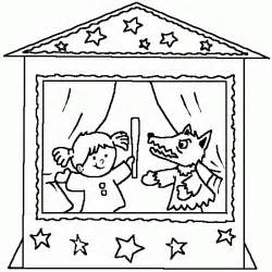 a coloring puppets free kids coloring to print