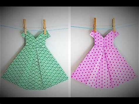 how to make origami wedding dress how to make an origami dress craft tutorial origami