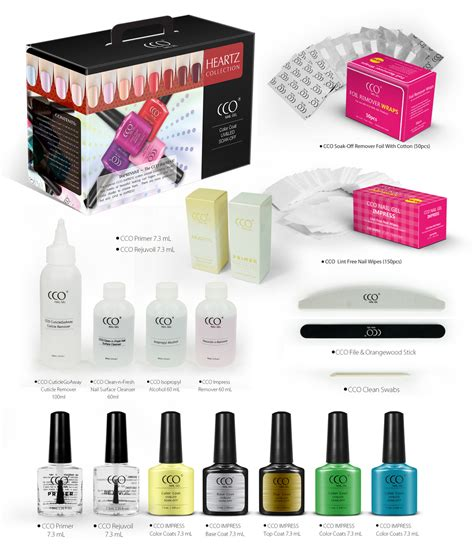 gel nail polish kit with uv light cco impress gel polish kit led uv light cosmetics nail