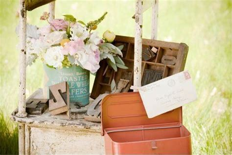 Vintage decor and prop rental for weddings