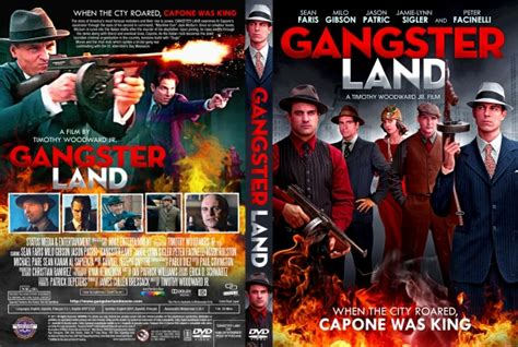 film de gangster usa gangster land dvd covers labels by covercity