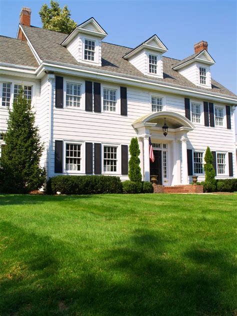 Colonial House 46 Best Images About Landscaping Colonial House On