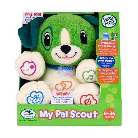 Leapfrog Step Sing Scout leapfrog scout my puppy pal scout leapfrog prima toys