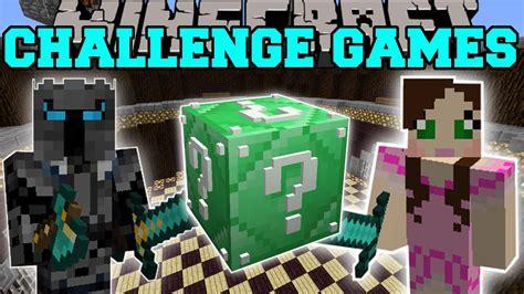minecraft lucky block mod game online minecraft emerald super lucky block challenge games