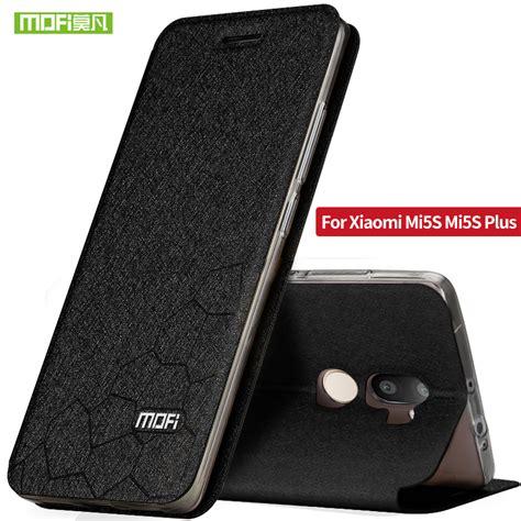 Pouch Leather Official Logo Xiaomi Mi5s xiaomi mi5s 5s auto cover xiomi mi5s plus luxo mofi flip leather xiaomi mi 5s