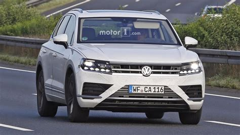 vw touareg 2018 2018 vw touareg will probably look a lot like this