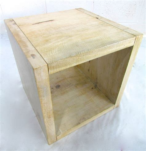 cube side tables solid cube side table l table g d home quality
