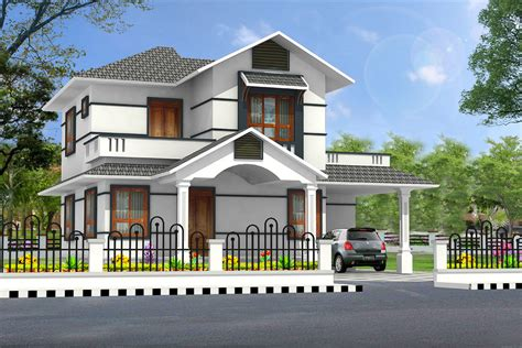 Residential Home Design Pictures | new home designs latest modern residential villas