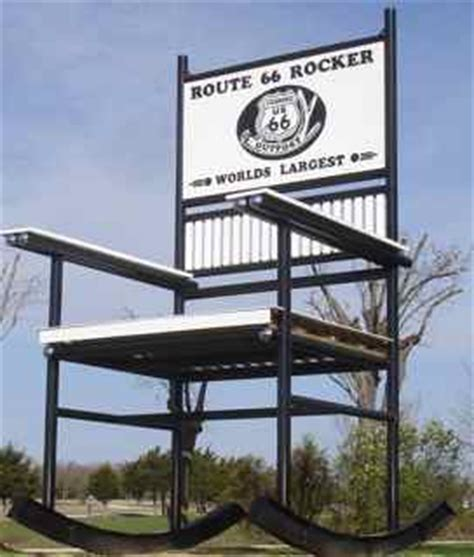 Worlds Largest Rocking Chair by World S Largest Rocking Chair Fanning Missouri Cuba Mo