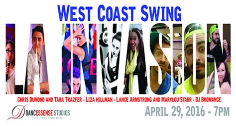 west coast swing calendar dance san diego calendar week of april 25 2016