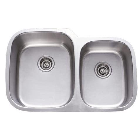 40 kitchen sink 31 inch stainless steel undermount 60 40 bowl