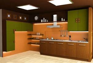 Modular Kitchen Designs Modular Kitchen 3d Images In Delhi India