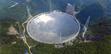 world s china completes world s largest radio telescope