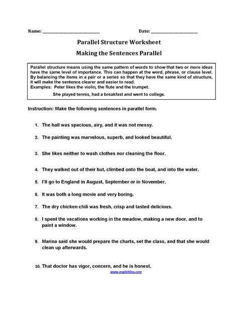 sentence structure worksheets 2nd grade sentence structure worksheets worksheets