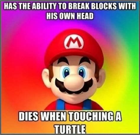 Super Mario Memes - funny logic of video games 15 pics izismile com