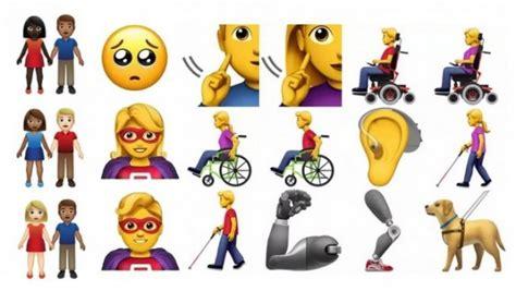 179 emojis finalistes candidats pour la mise 224 jour de 2019