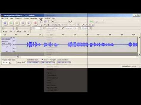 high pass filter in audacity high pass filters how and why to apply them in audacity