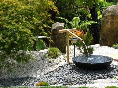 water feature in backyard backyard design ideas