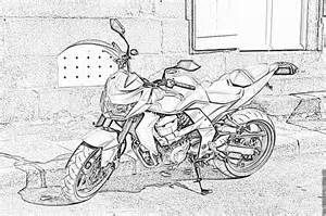 Coloriage Moto 0066 224 Imprimer Pour Les Enfants Dessin