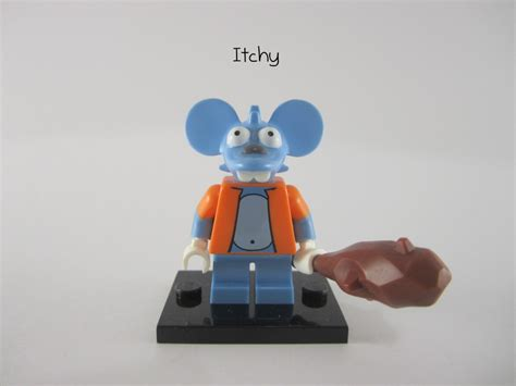 New Itchy Lego Minifigures The Simpsons No 13 Sse050 review lego simpsons collectible minifigures part 2