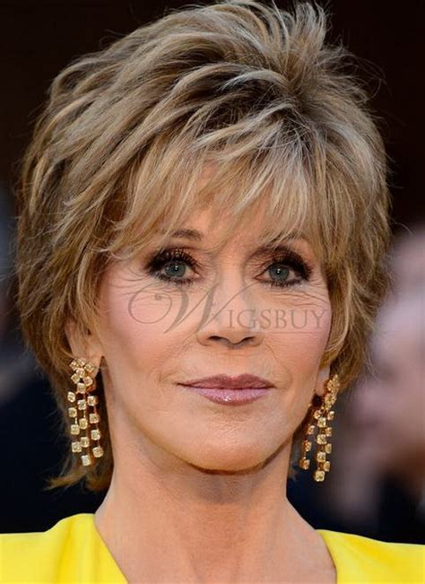 are fonda hairstyles wigs or own hair hairstyles jane fonda