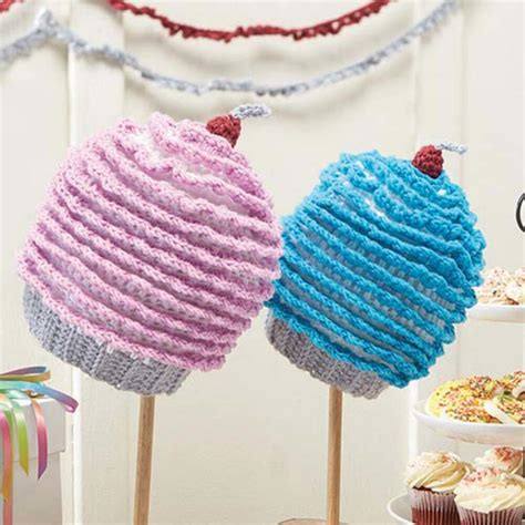 crochet pattern galore crochet patterns galore cupcakes galore cap and streamers