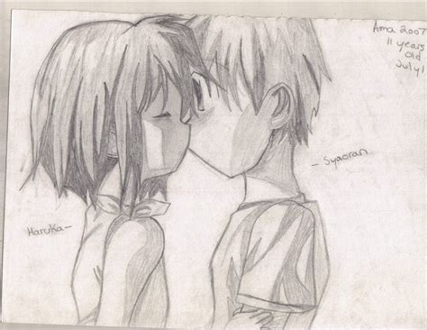 couples in love drawings anime couple by amane96 on deviantart