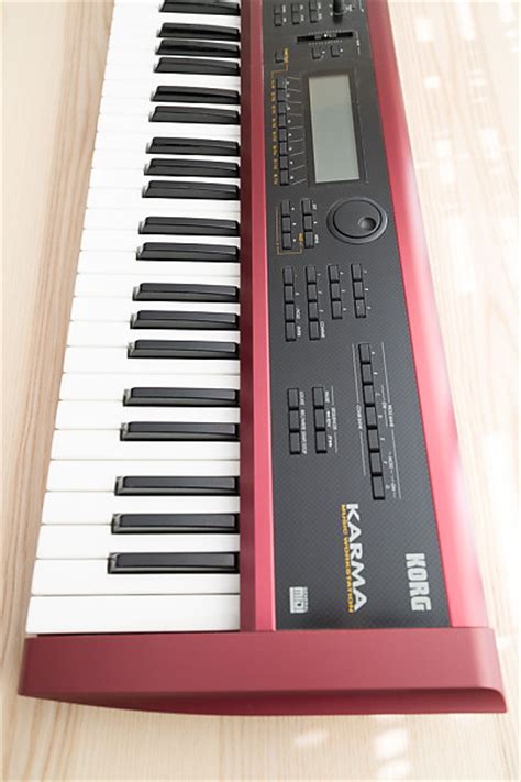 Keyboard Korg Karma korg karma digital workstation performance keyboard reverb