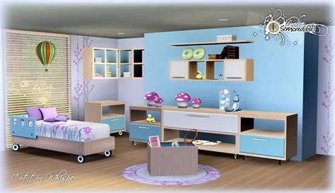sims 3 room ideas my sims 3 blog cotton whisper bedroom set by simcredible