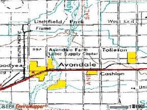 avondale arizona map avondale zip code map zip code map